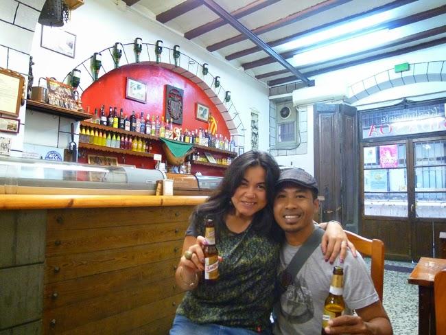 En el Bar Bidasoa
