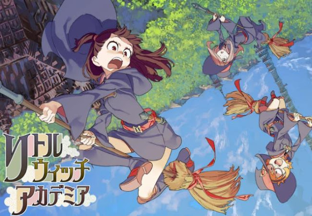 Little Witch Academia - Top Fantasy School Anime List