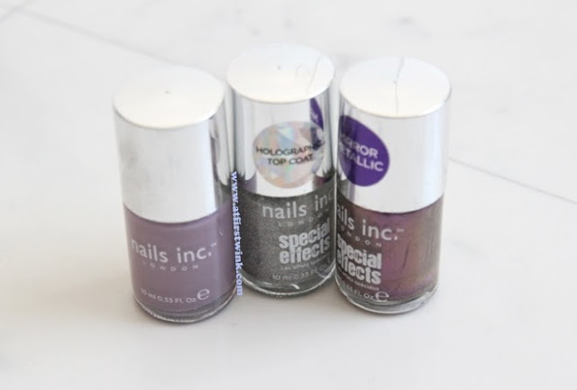 nails inc. nail polishes