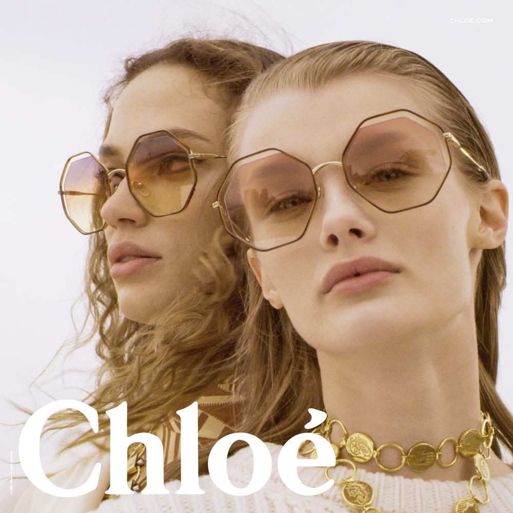 9644ab52b Nova coleção de óculos Chloé desembarca em Fortaleza