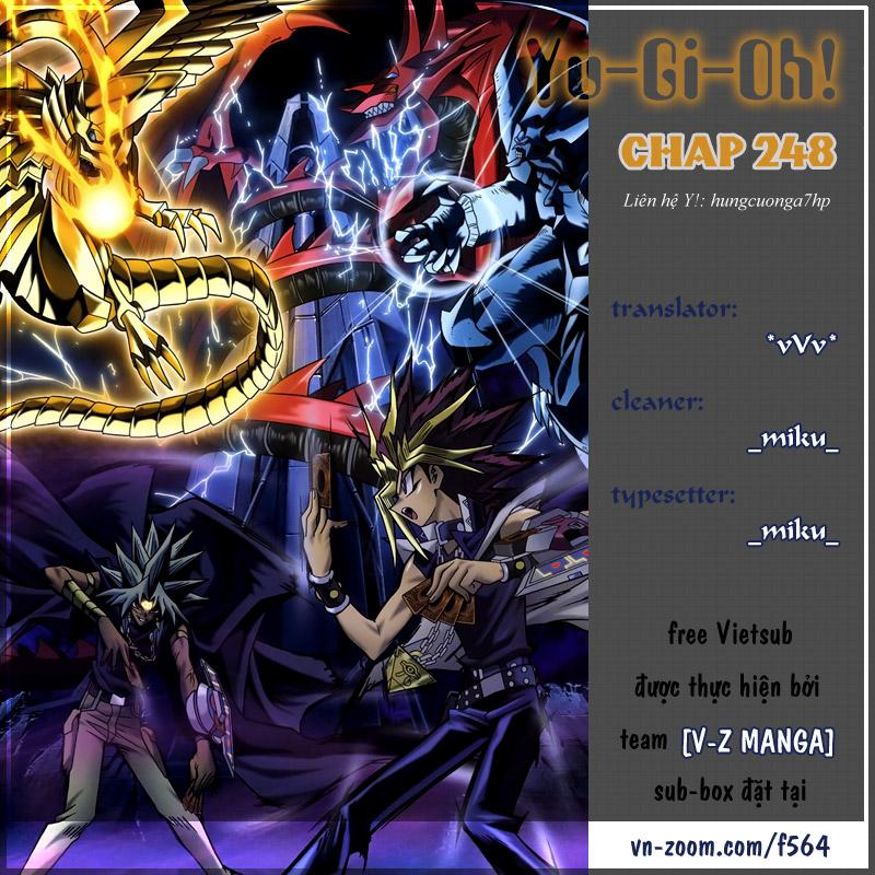 YUGI-OH! chap 248 - kỹ năng đặc biệt thứ 3 của thần ra trang 1