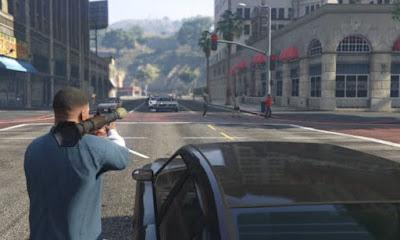 Bermain Grand Theft Auto 5 PC GAME
