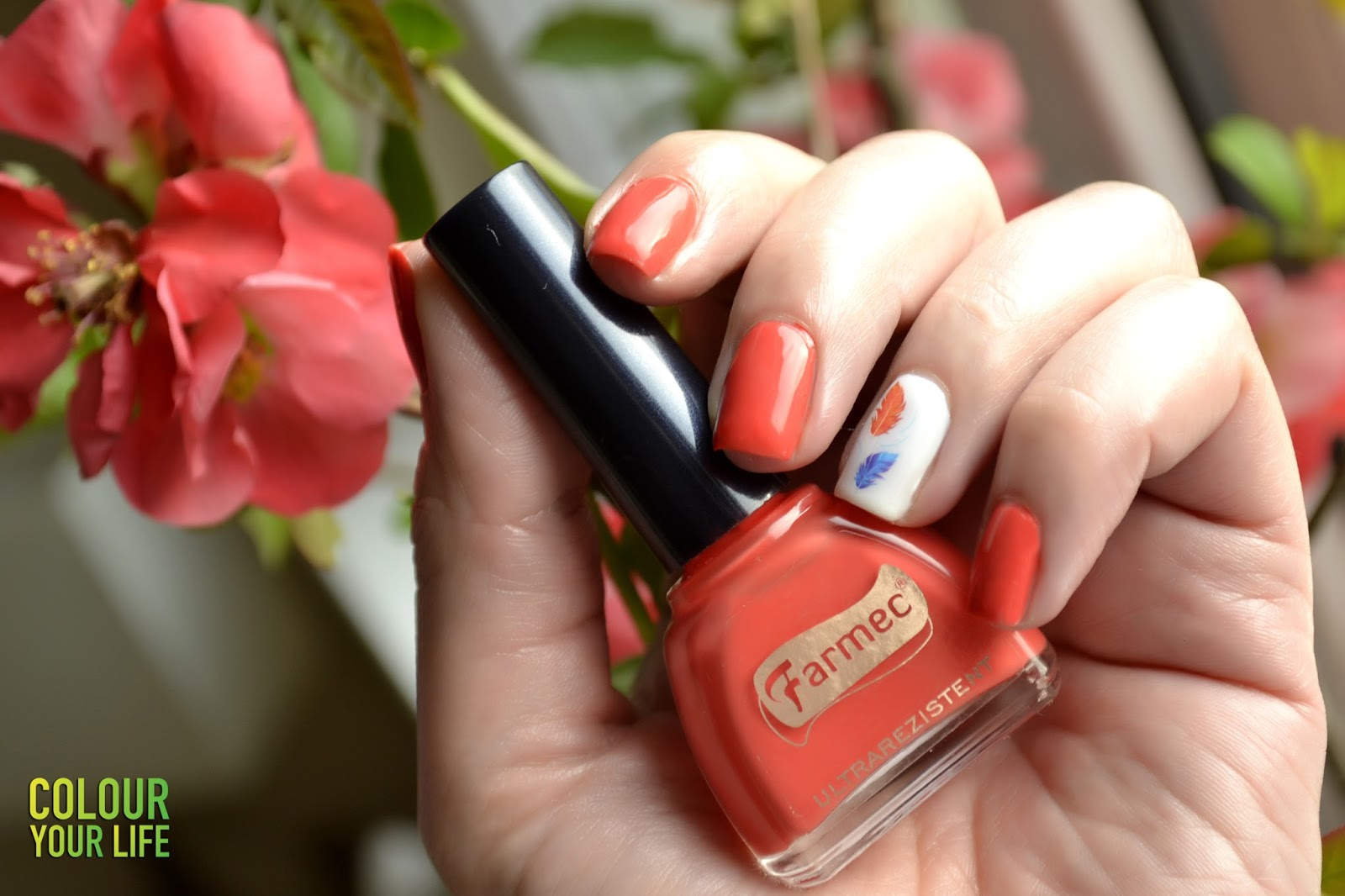 Colour your life: Bright spring color by Farmec