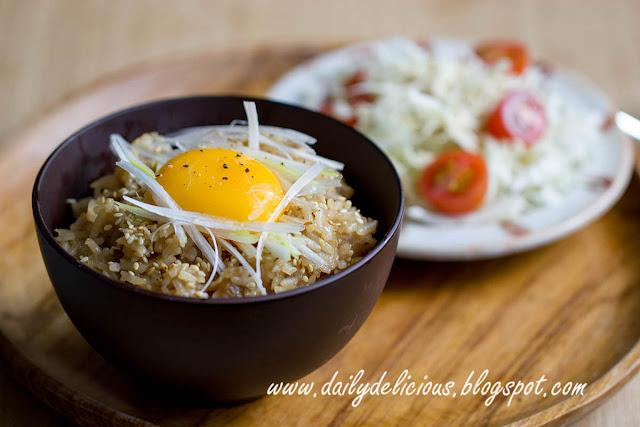 Dailydelicious: Pork Belly Stir Fried Rice: I Love One