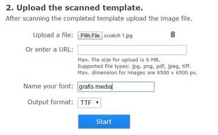 melihat banyaknya font gratisan di internet 2 Cara Praktis Membuat Font Sendiri