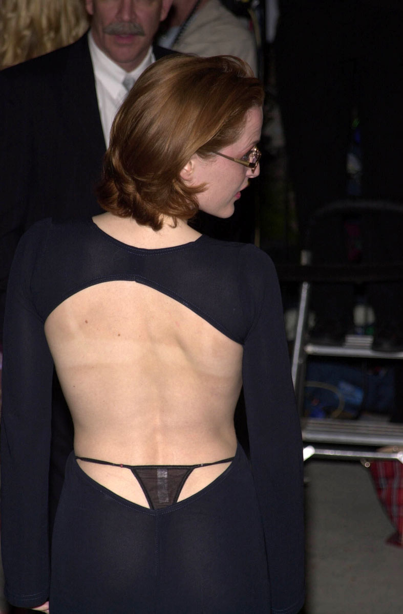 Dana scully xfiles rock hard nipples 1