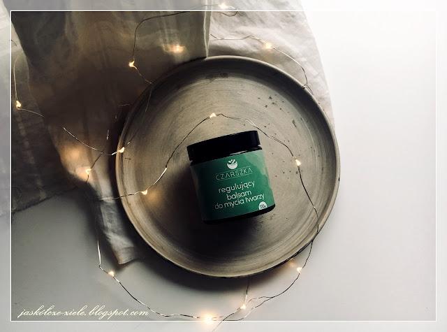 Regulujący balsam do mycia twarzy