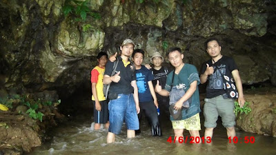 Caving ke Goa Lalay - Desa Sawarna