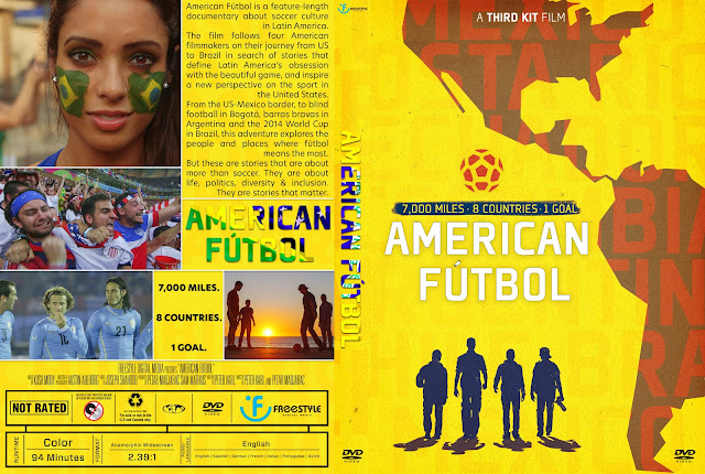 American Fútbol DVD Cover