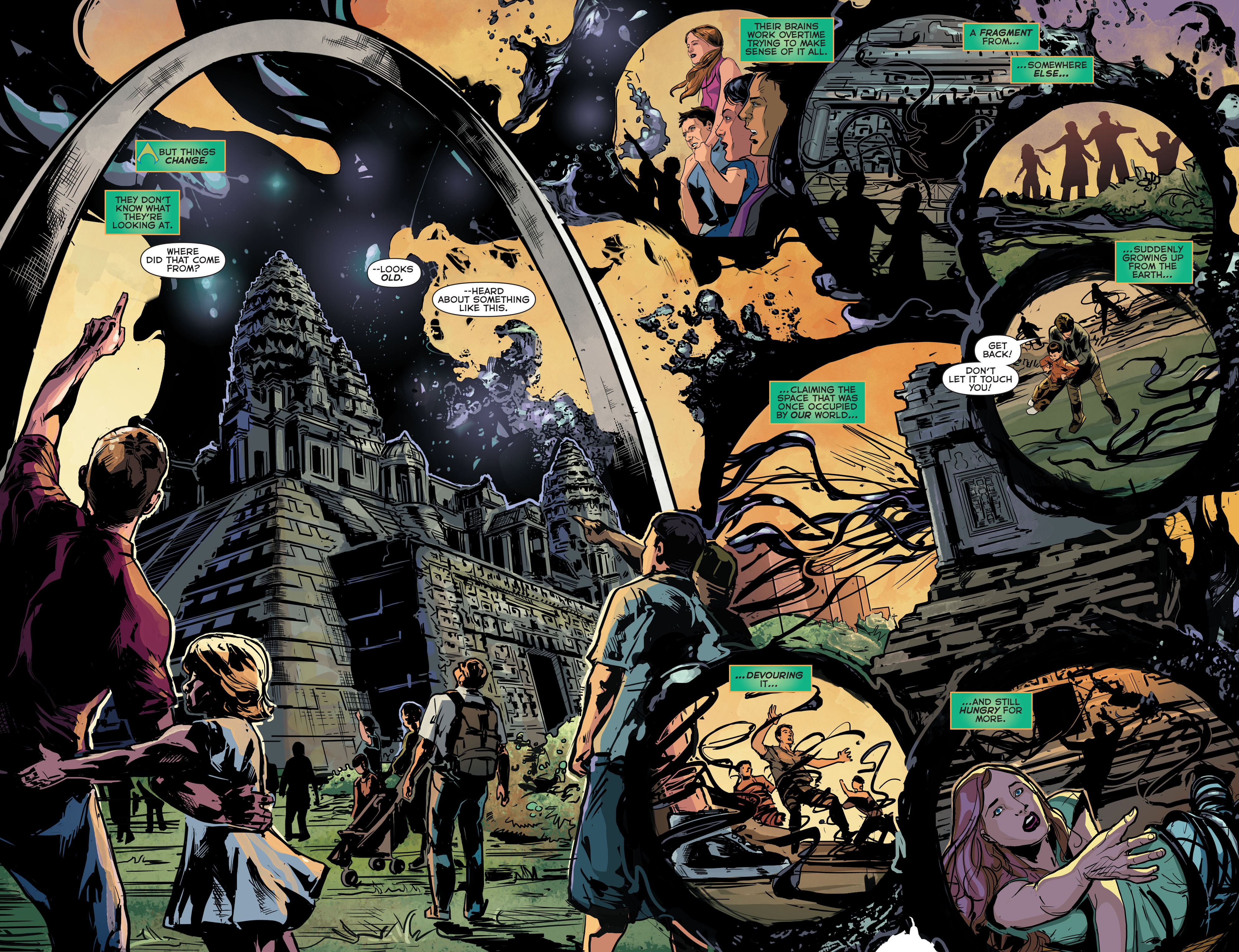 Read online Aquaman (2011) comic -  Issue #41 - 5
