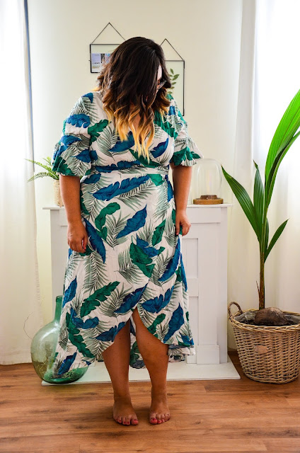Vestido tropical de Yoins