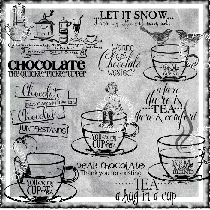 Coffee Tea or Chocolate