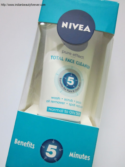Nivea total face clean up