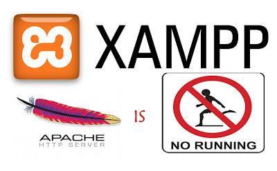 Mengatasi Paket Apache Tidak Berjalan di Xampp