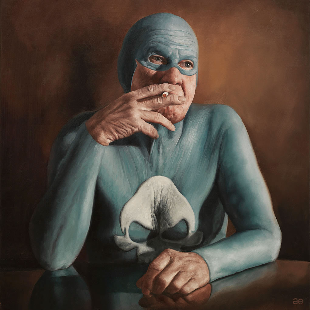 15-Andreas-Englund-Paintings-of-the-Unglamorous-Side-of-a-Superhero-www-designstack-co