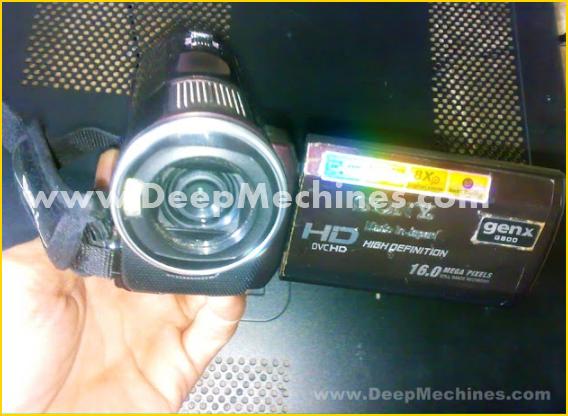"Fungsi Tombol / Port DVC HD SONY 16.0MPx ""GEN X"" G800"