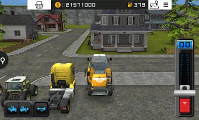ScreenShot: Farming Simulator 16 for Android