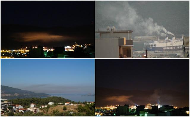 Τι απαντάει το Λιμεναρχείο Ηγουμενίτσας για τον εκαπνισμό των πλοίων