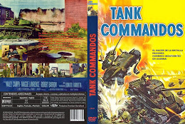 Cover, caratula, Dvd: Tank Commandos | 1959