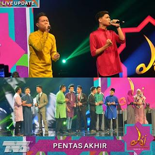 Keputusan pemenang da'i 2016