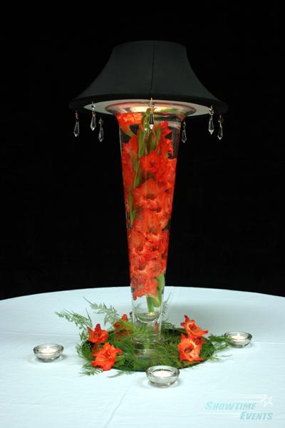 vase glass centerpieces