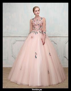 Vestidos de noche ala moda 2018