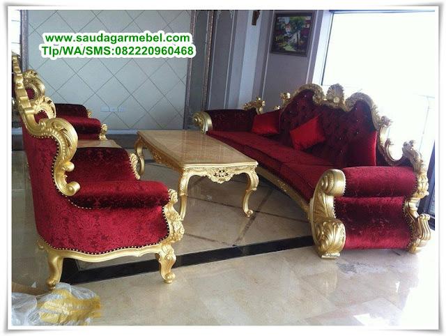 Kursi Tamu Mewah Jati Jepara Terbaru, Kursi Tamu Mewah, Set Sofa Mewah Jepara, Kursi Sofa Ruang Keluarga, Kursi Tamu Jati Jepara Mewah