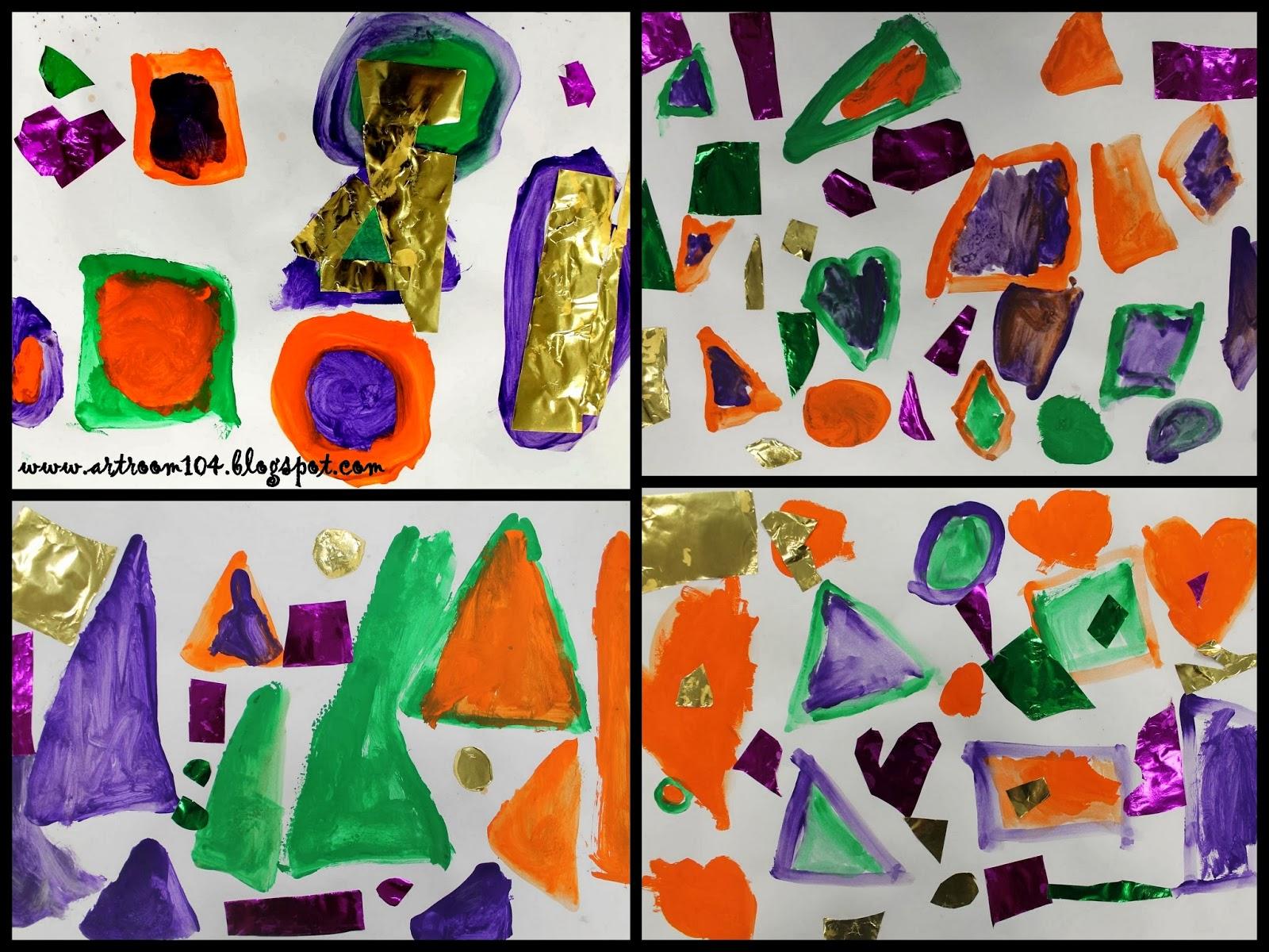 Art Room 104 Kindergarten Secondary Shapes