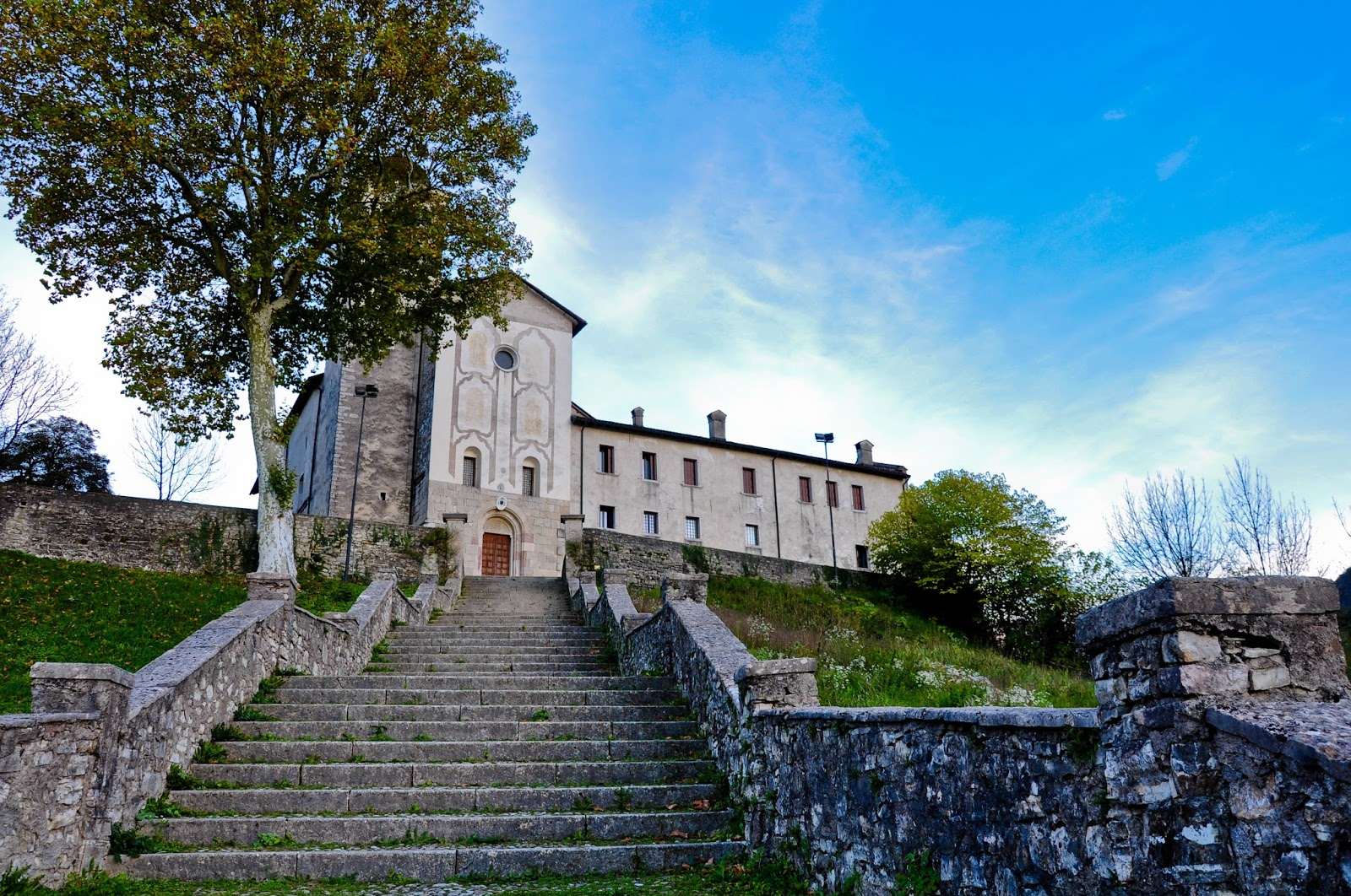 The Sanctuary of St. Vittore e St. Corona, Feltre, Veneto, Italy
