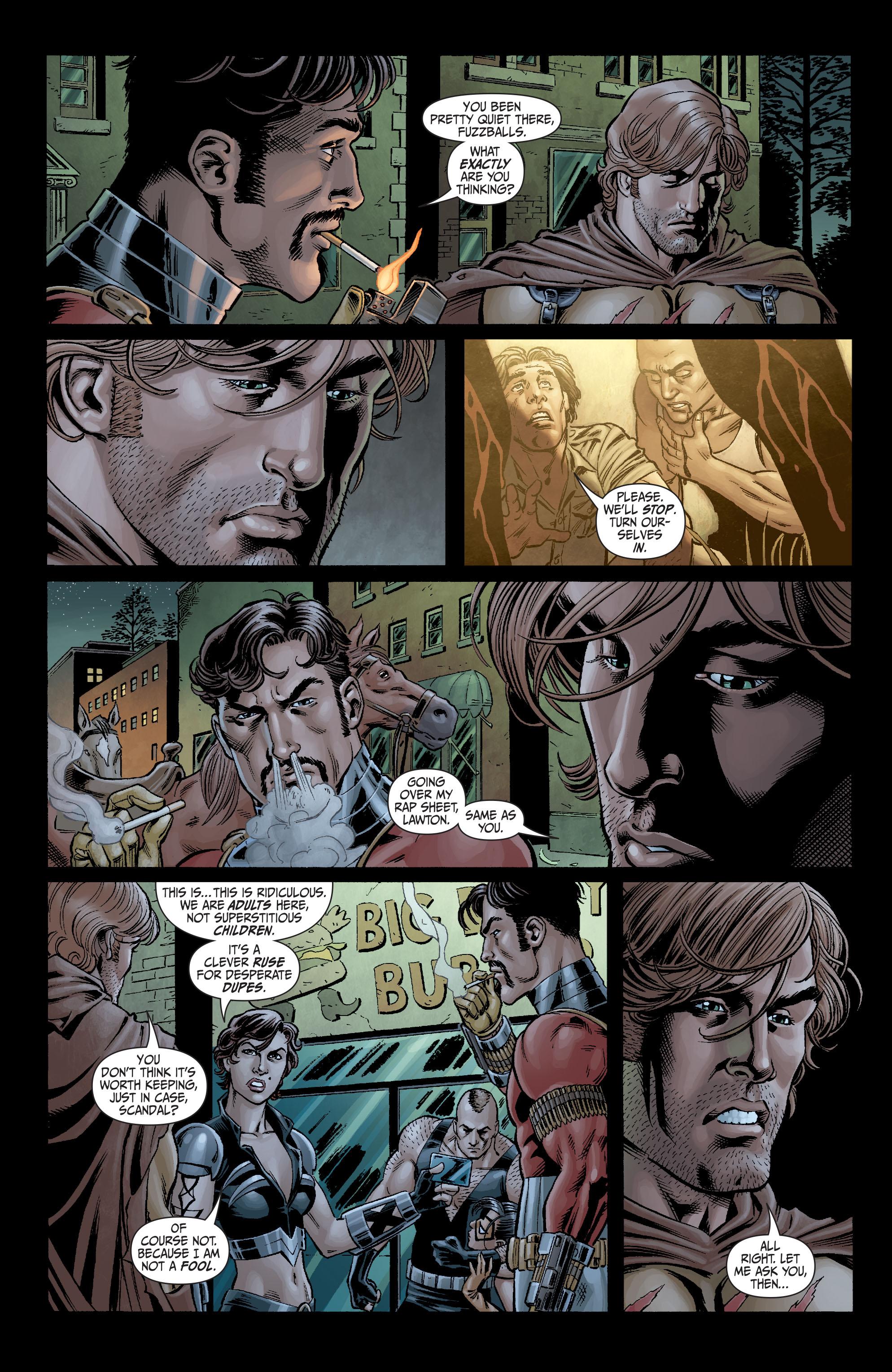 Read online Secret Six (2008) comic -  Issue #4 - 5