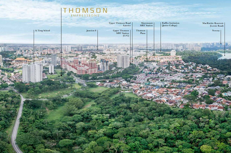 unrivaled location of thomson impressions