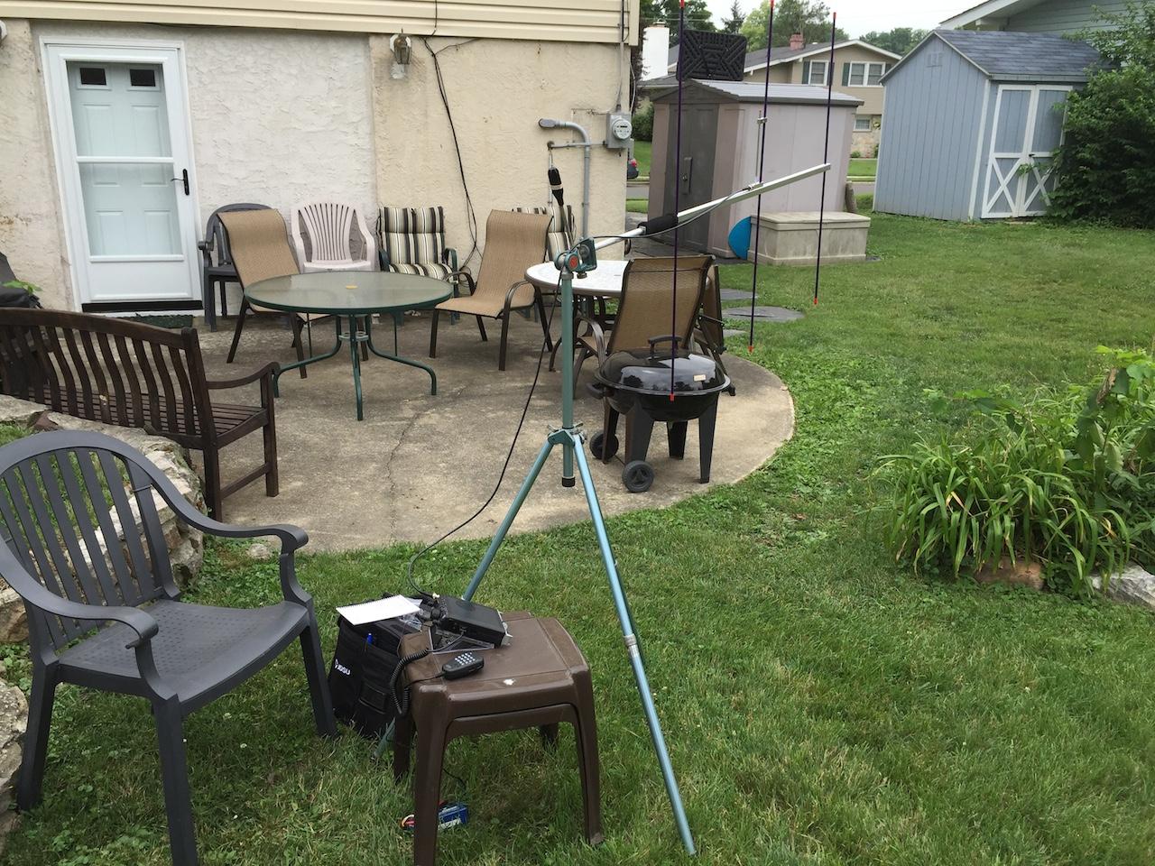 Testing out 2M Yagi Antennas | Bushcraft USA Forums