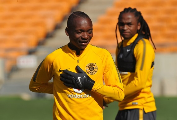 Khama Billiat and Siphiwe Tshabalala