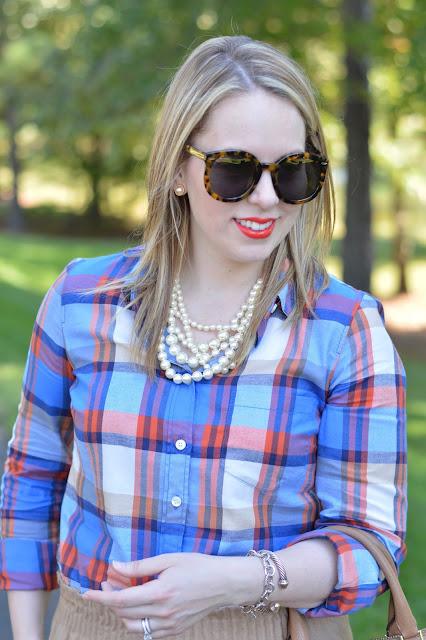 blue-plaid-shirt-outfit