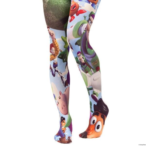 Irregular Choice Toy Story tights on legs