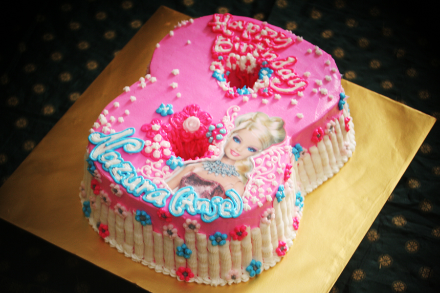 Rizq Cakes Barbie S 8th Birthday