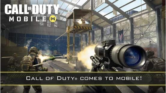 لعبة Call Of Duty Mobile موبايل