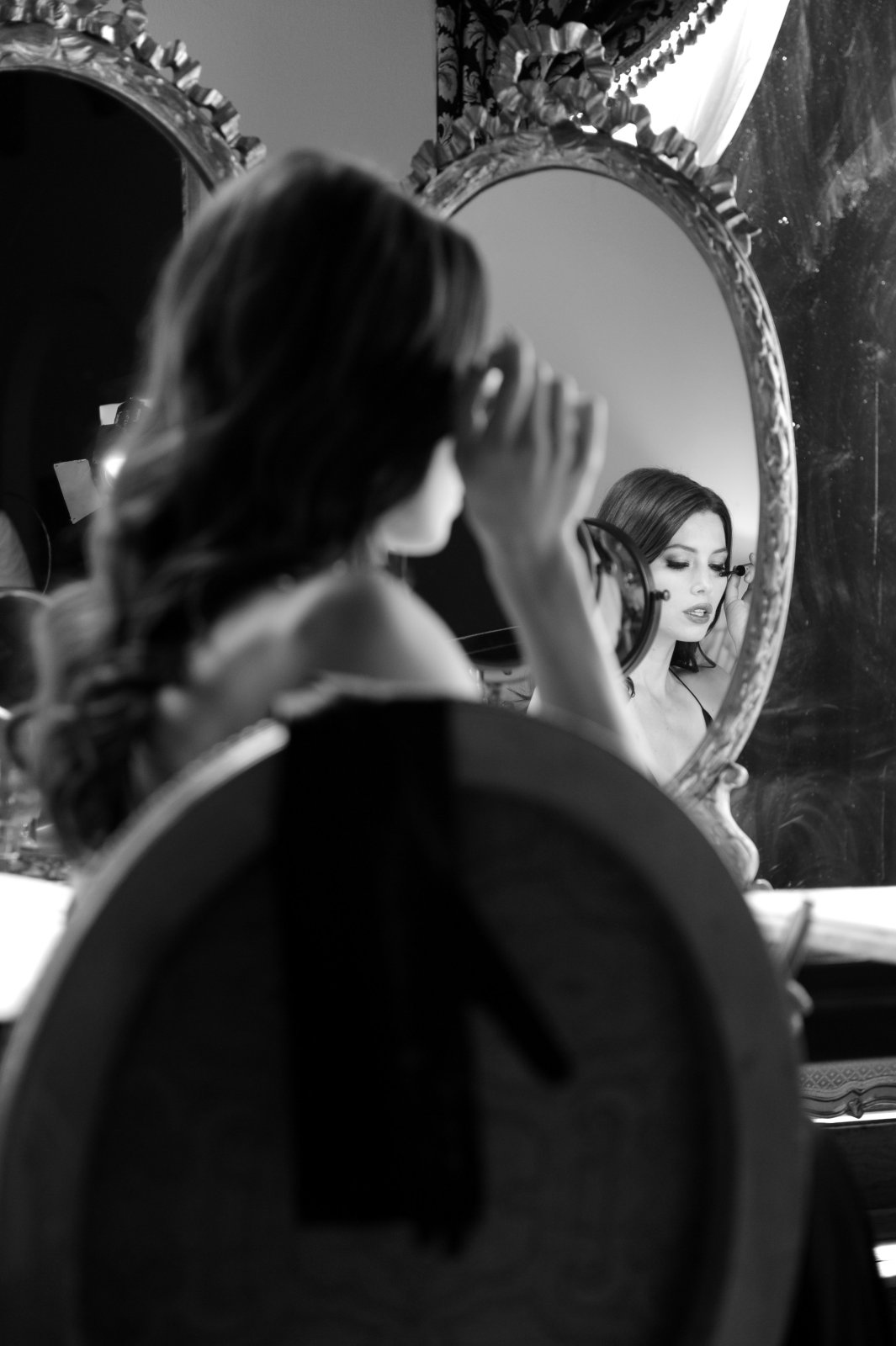 For the love of beauty with a for cosmetics - Black and white love pictures ...