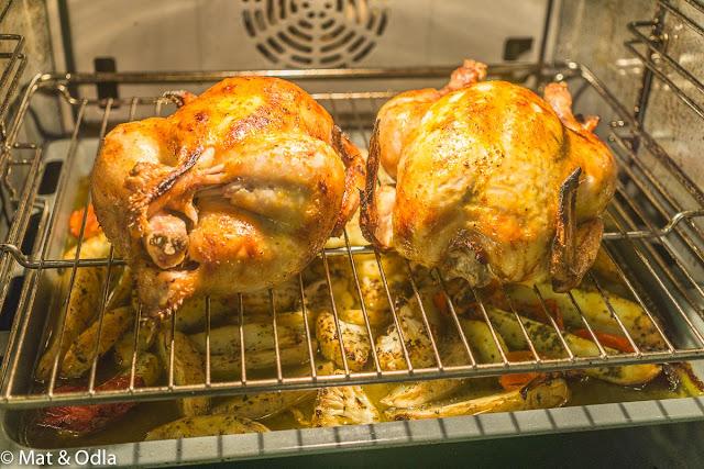 ugnsrostad kyckling