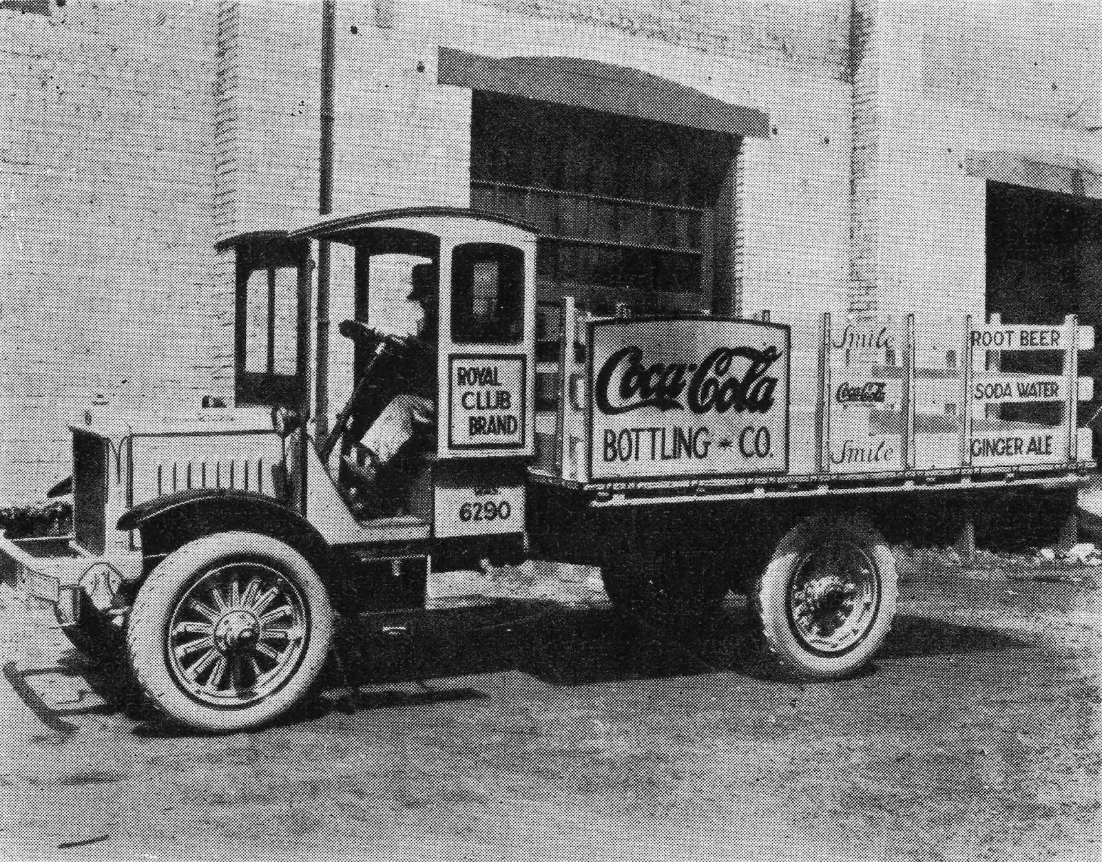197-R 1921 COCA COLA Delivery Truck PHOTO