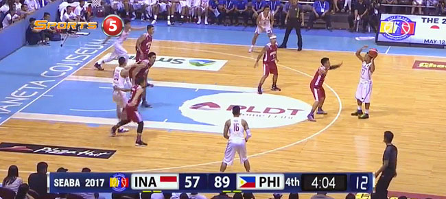 Gilas Pilipinas def. Indonesia, 97-64 (REPLAY VIDEO) 2017 SEABA Gold!