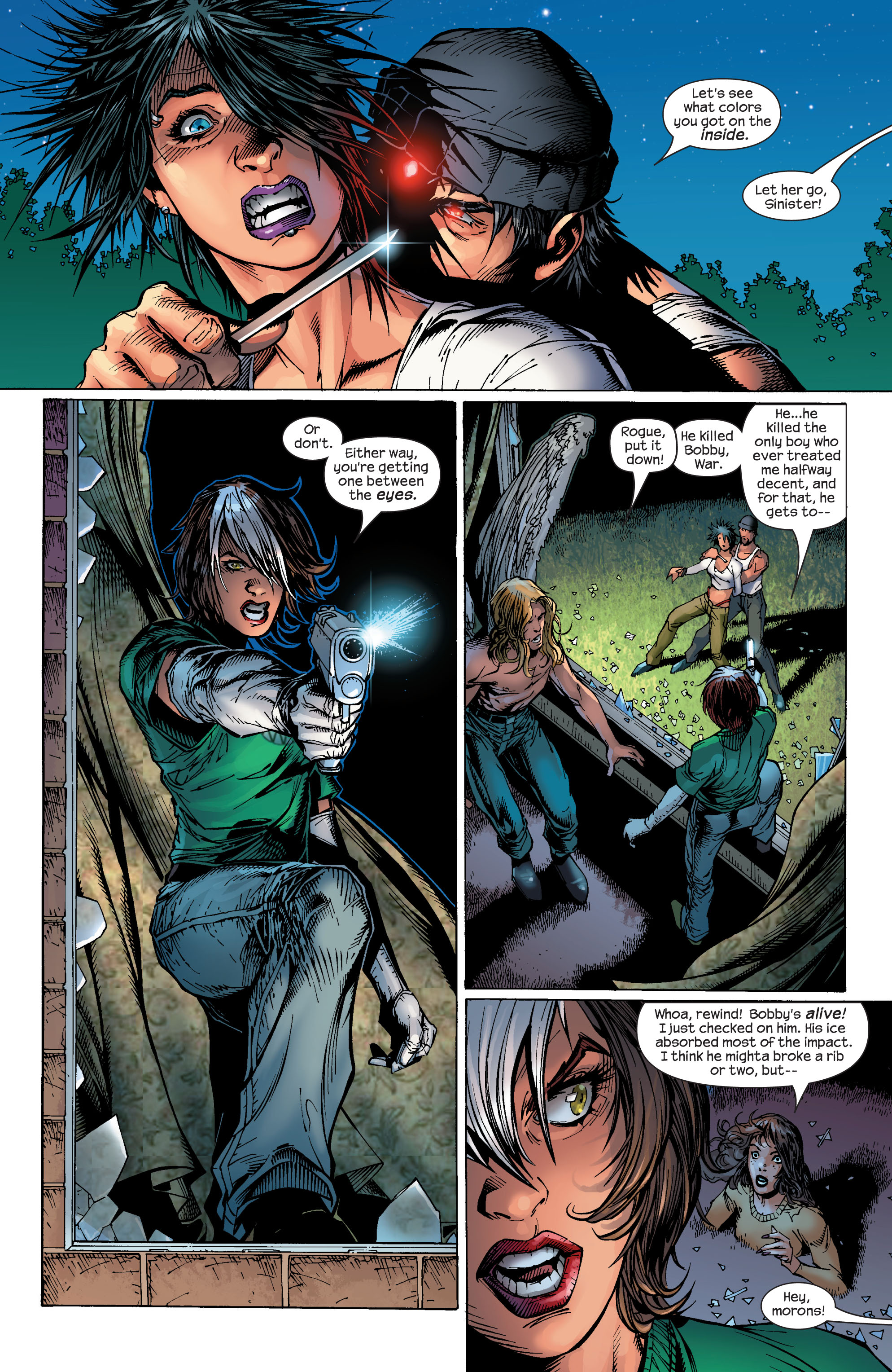 Read online Ultimate X-Men comic -  Issue #49 - 16
