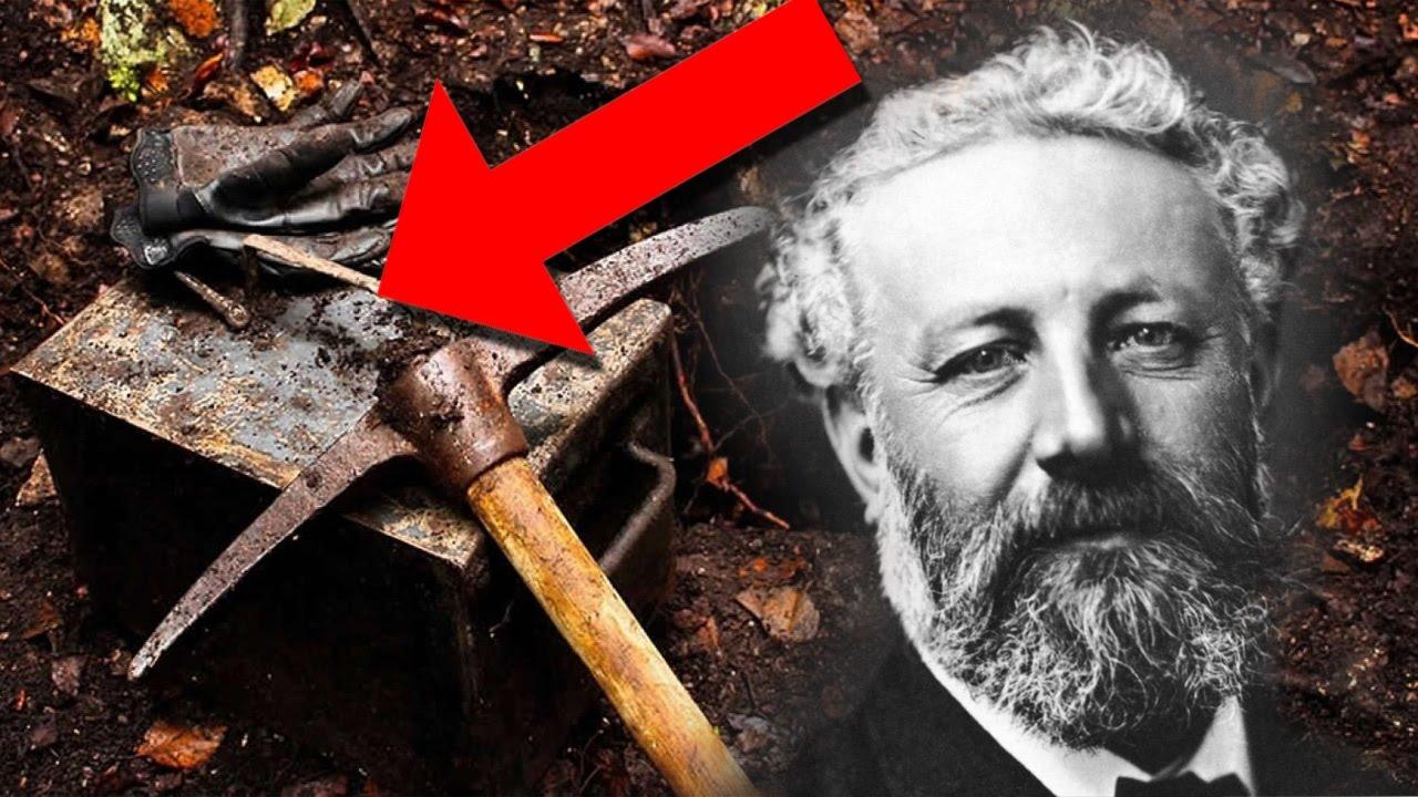 Encuentran enterrada una Cápsula del Tiempo con los secretos de Julio Verne