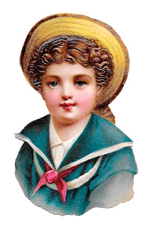 boy sailor victorian digital download child image vintage clipart