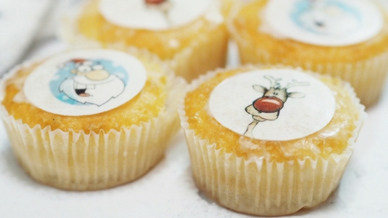 A quick and easy Christmas cupcake recipe