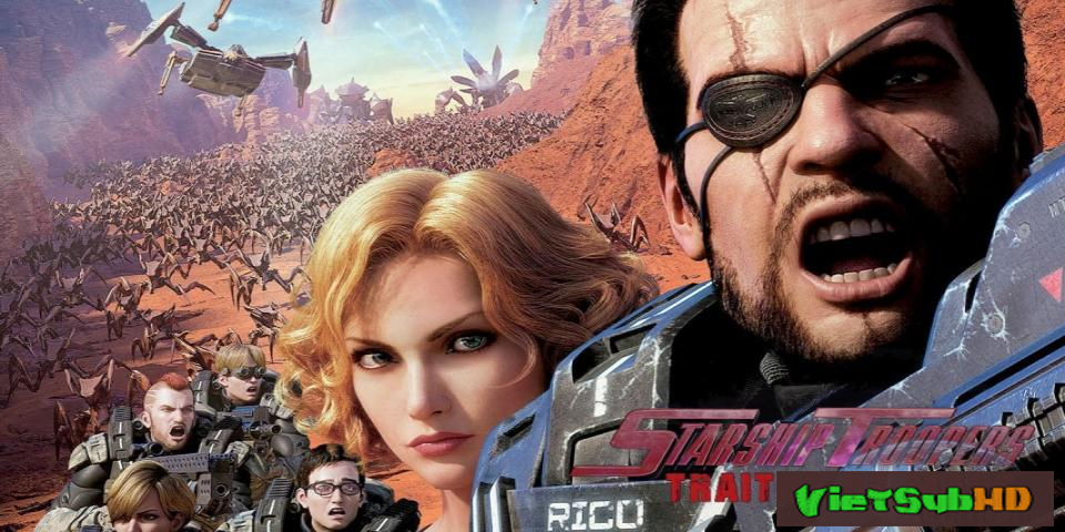 Phim Chiến binh vũ trụ: Kẻ phản bội Sao Hỏa VietSub HD | Starship Troopers: Traitor of Mars 2017