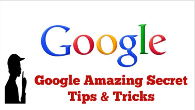 10 Amazing Google Tips & Tricks ( Hindi )