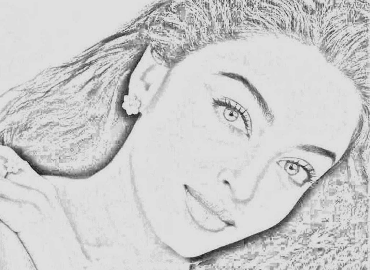 shahrukh khan coloring pages | colours drawing wallpaper: Aishwarya Rai Drawing Cartoon ...