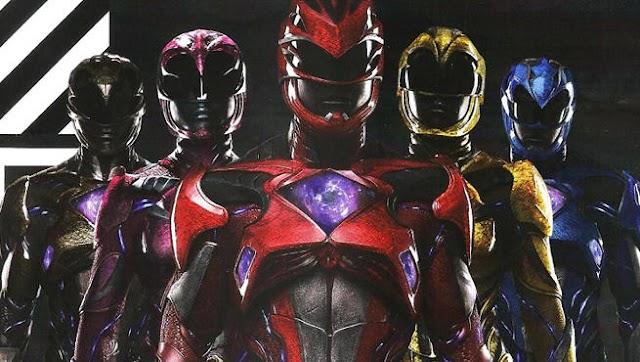 Novo filme dos Power Rangers já esta sendo gravado e novos pôsteres já estão disponiveis