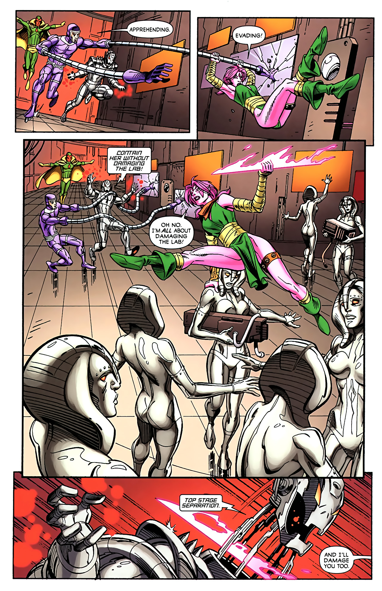 Read online Exiles (2009) comic -  Issue #5 - 6